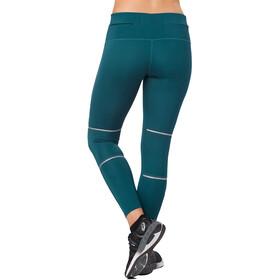 asics Lite-Show - Pantalones cortos running Mujer - Azul petróleo